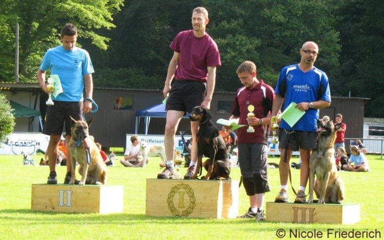 1. Platz von Armin & ILVA bei der swhv THS Verbandsmeisterschaft - © Nicole Friederich